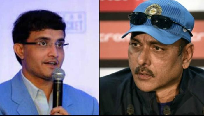 टीम इंडिया कोच विवाद: गुस्साये गांगुली ने कहा, 'खुशफहमी में जी रहे हैं रवि शास्त्री'