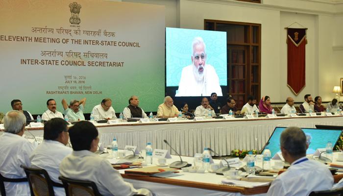 देश तभी प्रगति करेगा जब केंद्र और राज्य कंधे से कंधा मिलाकर चलें: पीएम मोदी