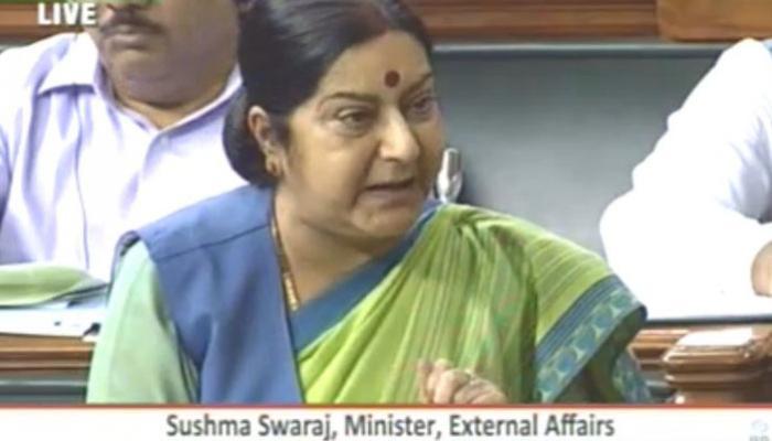 NSG में भारत के प्रयास में चीन ने खड़ी की बाधा, मतभेदों को दूर करने की कोशिश कर रहे: सुषमा स्वराज