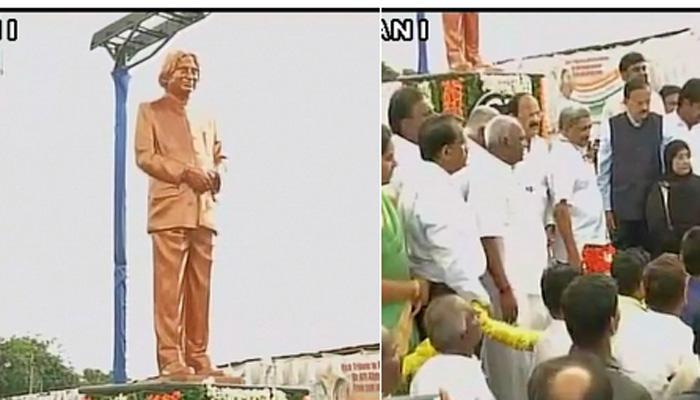 पहली पुण्यतिथि पर रामेश्वरम में कलाम की आदमकद प्रतिमा का हुआ अनावरण
