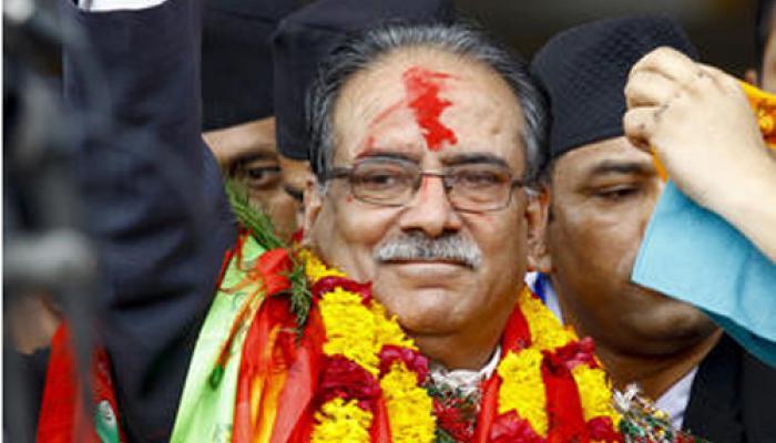 माओवादी नेता प्रचंड बने नेपाल के प्रधानमंत्री, मोदी ने दी बधाई