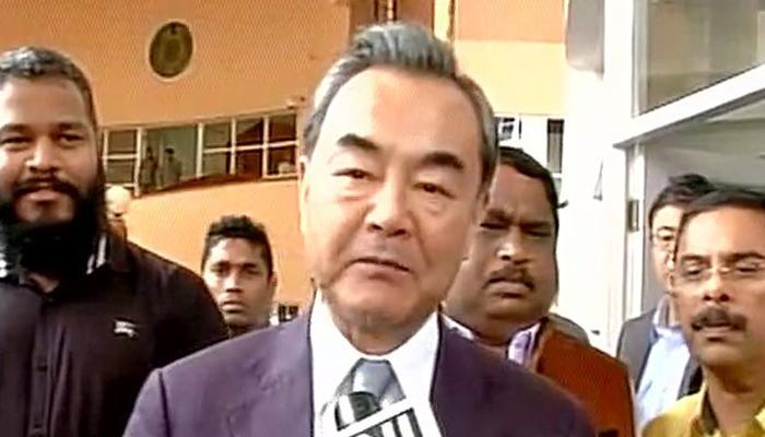 भारत दौरे पर पहुंचे चीन के विदेश मंत्री वांग यी, गोवा सीएम से की मुलाकात