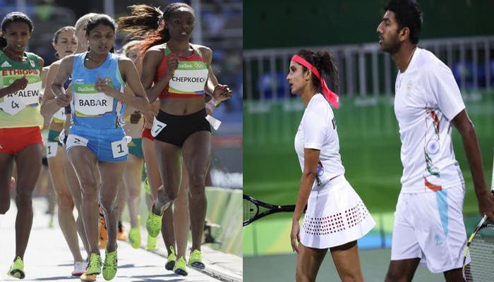 ललिता ने एथलेटिक्स में चमक बिखेरी, टेनिस में सानिया-बोपन्ना की जोड़ी हारी