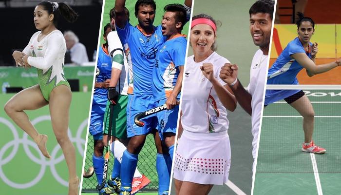रियो ओलंपिक : भारत को हॉकी; टेनिस-बैडमिंटन में लगे झटके, पदक से चूकीं दीपा कर्माकर