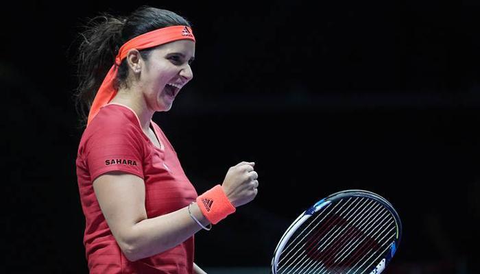 WTA युगल रैंकिंग में अकेले टॉप पर पहुंचीं टेनिस स्टार सानिया मिर्जा
