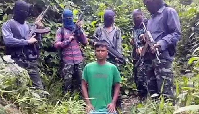 WATCH: असम में बीजेपी नेता का बेटा अगवा, ISIS की तर्ज पर जारी हुआ वीडियो