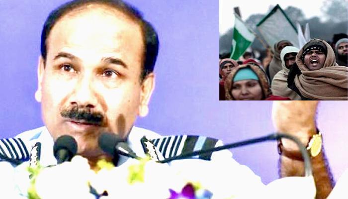 भारतीय वायुसेना प्रमुख अरूप राहा ने कहा, 'PoK का मसला शरीर में चुभता है कांटे की तरह, 1971 में पाकिस्तान से छीन सकते थे'