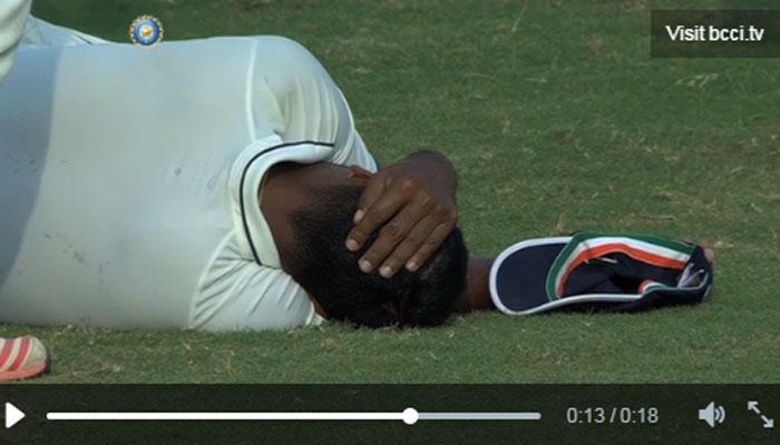दिलीप ट्रॉफी मैच के दौरान प्रज्ञान ओझा के सिर में लगी चोट, अस्पताल में भर्ती, देखें VIDEO