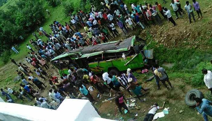 ओडिशा : बस दुर्घटना में 16 की मौत, सीएम ने दुख जताया