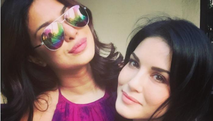 प्रियंका चोपड़ा, सनी लियोनी ने न्यूयॉर्क में एक साथ वक्त गुजारा