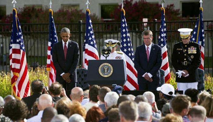 मौन के साथ शुरू हुई न्यूयॉर्क में 9/11 हमलों की 15वीं बरसी