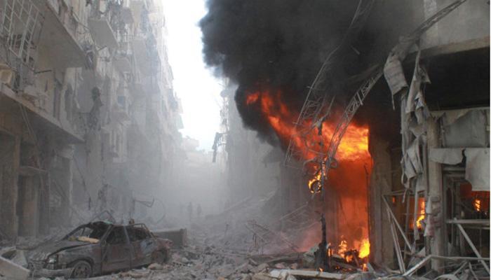 सीरिया की सेना ने अलेप्पो पर किया ताजा हमला, सीजफायर की कोशिश नाकाम