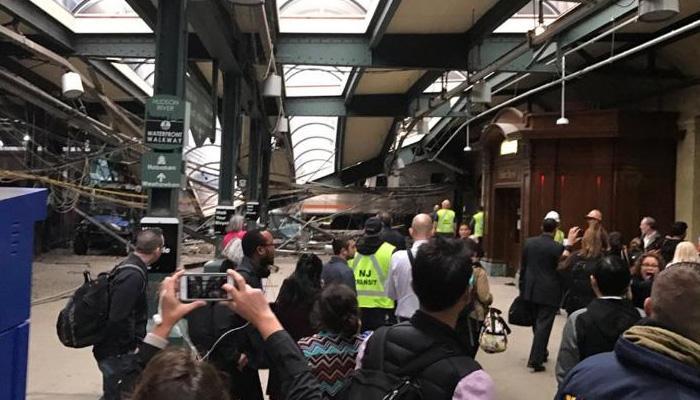 अमेरिका के न्यूजर्सी में ट्रेन दुर्घटना में एक की मौत, 114 घायल