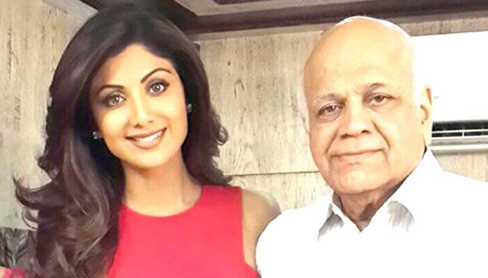 शिल्पा शेट्टी ने पिता के लिए दिल को छू लेने वाली कविता लिखी