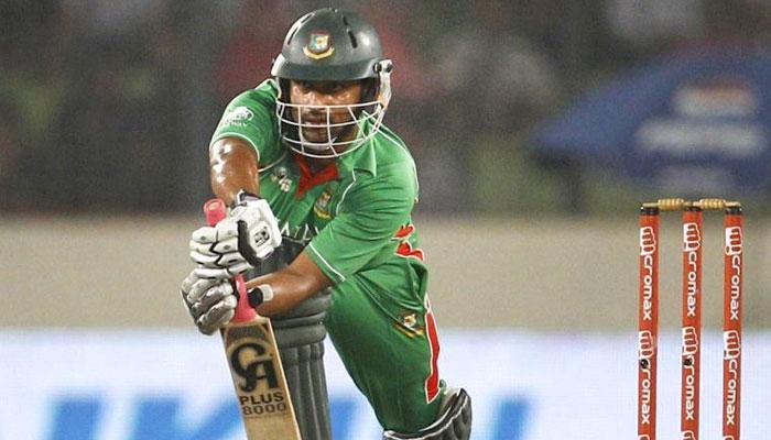 तमीम इकबाल का अर्धशतक, बांग्लादेश के 5 विकेट पर 221 रन