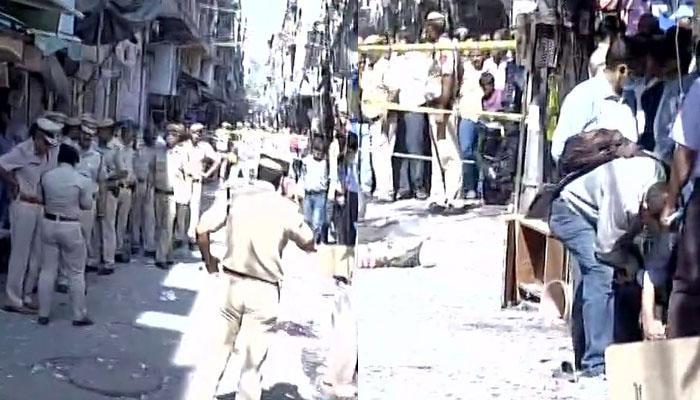 दिल्ली: नया बाजार इलाके में पटाखों में धमाका; एक की मौत, 5 लोग घायल
