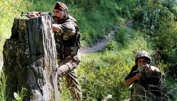 जवाबी कार्रवाई में सेना ने 2-3 पाकिस्तानी सैनिक मार गिराए