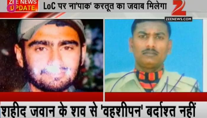 LoC पर जवान के शव से बर्बरता: भारतीय सेना ने कहा- इस हरकत का देंगे माकूल जवाब, शहीद की पत्नी बोली- अब पाकिस्तान को सिखाओ आखिरी सबक