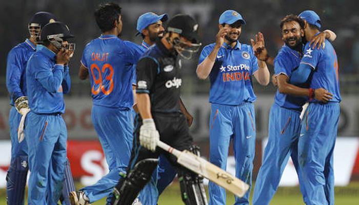 कहर बनकर टूटे अमित मिश्रा, भारत ने न्यूजीलैंड को 190 रनों से रौंदा, सीरीज पर 3-2 से कब्जा