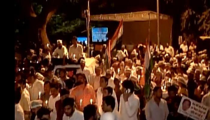 पूर्व फौजी सुसाइड केस : राहुल गांधी तीसरी बार हिरासत में, बाद में पुलिस ने छोड़ा