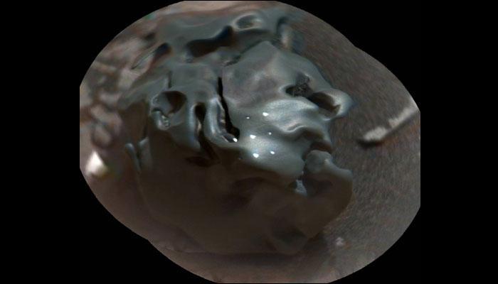 क्यूरियोसिटी रोवर ने मंगल पर खोजा दुर्लभ 'एग रॉक'