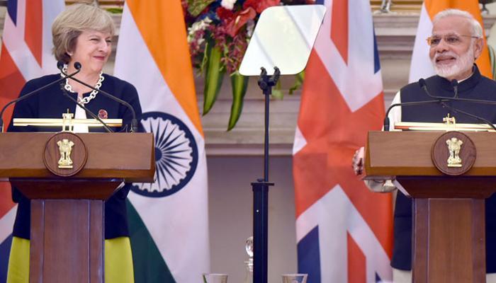भारत और ब्रिटेन ने आतंकवाद से मुकाबला करने का संकल्प लिया