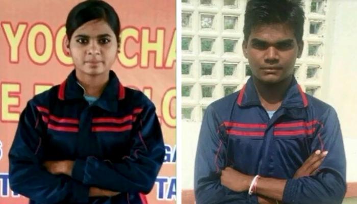 भारत की योग टीम में झाबुआ के दो बच्चे