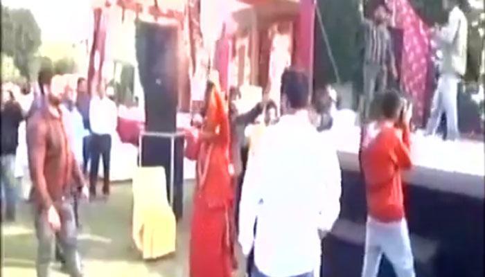 हरियाणा के करनाल में  जश्न में मातम, साध्वी देवा ठाकुर ने चलाई गोलियां, एक की मौत, तीन घायल
