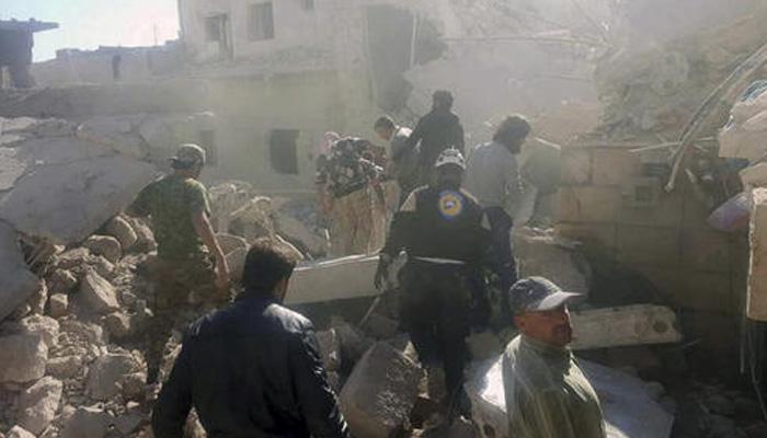 विद्रोहियों के कब्जे वाले अलेप्पो एवं उत्तरी सीरिया में बम हमले, 54 की मौत