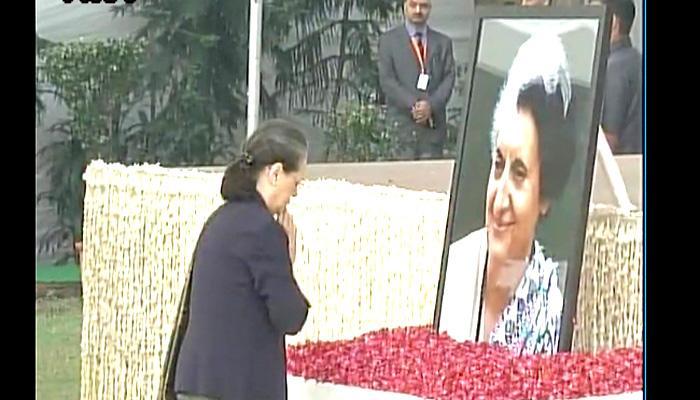 प्रधानमंत्री ने इंदिरा गांधी को उनकी जयंती पर श्रद्धांजलि अर्पित की