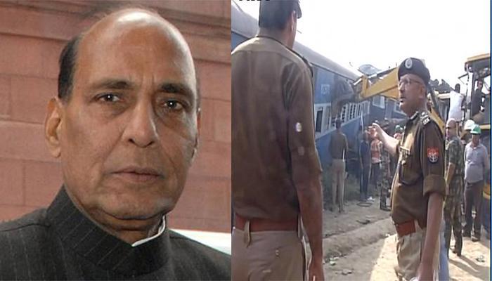 कानपुर ट्रेन हादसा: राजनाथ ने NDRF से रेस्क्यू कार्यों में मदद के लिए कहा