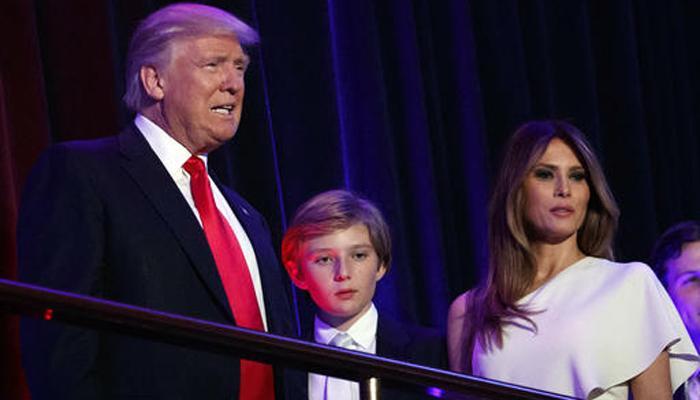 मेलानिया ट्रंप, बेटे बैरन का तत्काल व्हाइट हाउस में रहने का इरादा नहीं