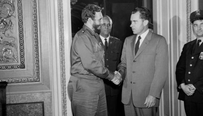 क्यूबा के क्रांतिकारी नेता फिदेल कास्त्रो और अमेरिका के 11 राष्ट्रपति