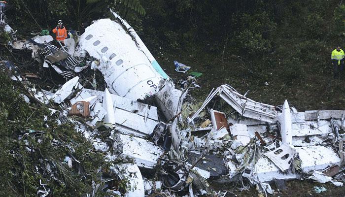 कोलंबिया में दुर्घटनाग्रस्त विमान का ईंधन क्रैश से पहले खत्म हो गया था
