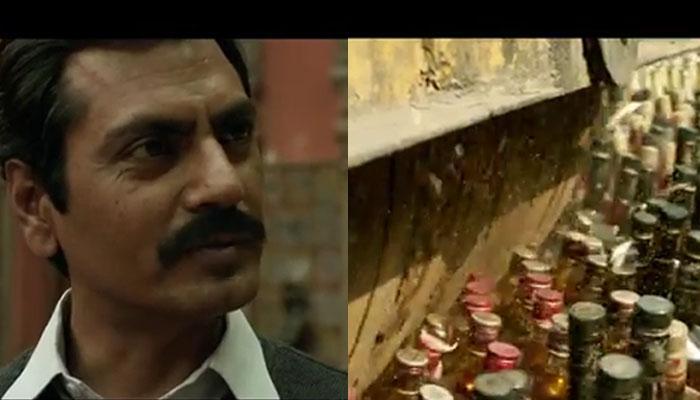 फिल्म 'रईस' के एक सीन में नवाजुद्दीन ने रोडरोलर से कुचल दीं 60 हजार शराब की बोतलें!