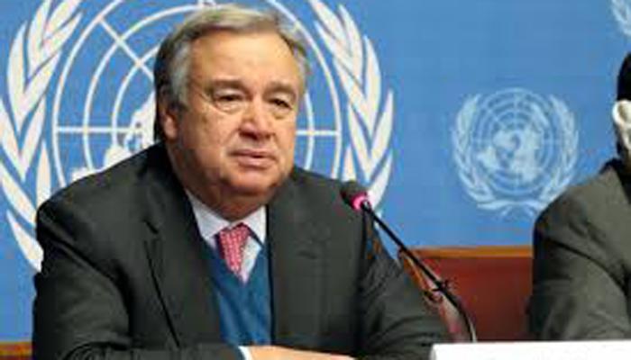 एंटोनियो गुटेरेस को संयुक्त राष्ट्र महासचिव पद की शपथ दिलायी गयी