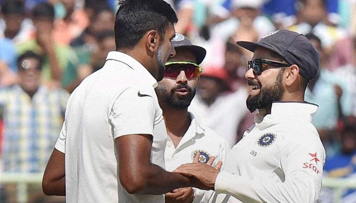 इंग्लैंड से टेस्ट सीरीज जीतने के बाद कुछ इस तरह विराट एंड कंपनी ने मनाया जश्न, WATCH VIDEO