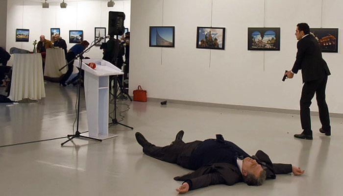 ताबड़तोड़ गोलियां बरसाकर कर दी रूसी राजदूत की हत्या, watch video