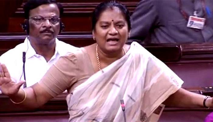 शशिकला पुष्पा ने अन्नाद्रमुक महासचिव पद के लिए चुनाव लडने की धमकी दी