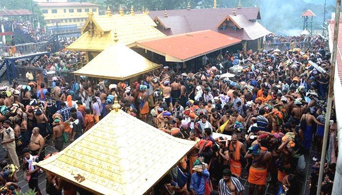 केरल के सबरीमाला मंदिर में भगदड़, 21 घायल, दो की हालत ज्यादा नाज़ुक