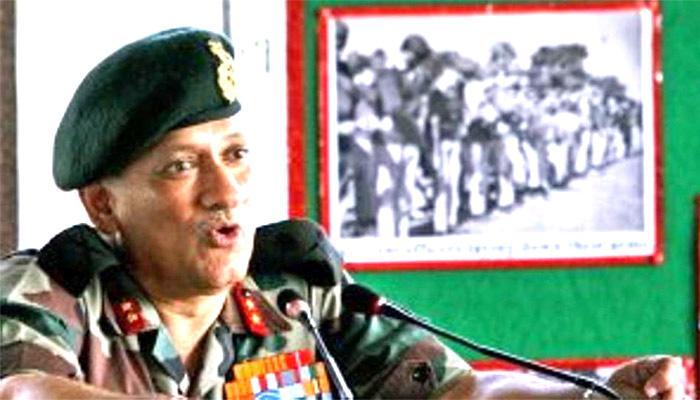 नए आर्मी चीफ जनरल बिपिन रावत बोले, 'जरुरत पड़ने पर सेना बल प्रयोग करने से नहीं हिचकेगी'