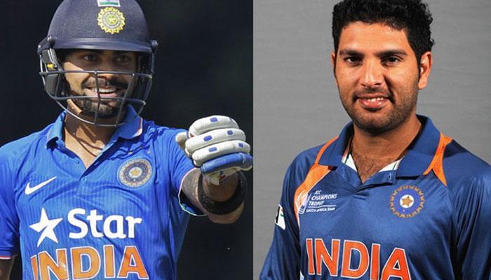 इंग्लैंड के खिलाफ वनडे और T20 सीरीज के लिए विराट कोहली बने कप्तान, युवराज की फिर हुई वापसी