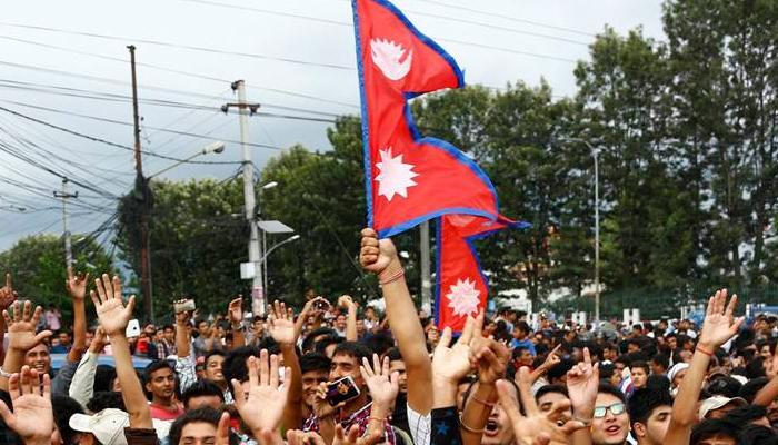 संविधान संशोधन विधेयक के खिलाफ नेपाल में विरोध प्रदर्शन