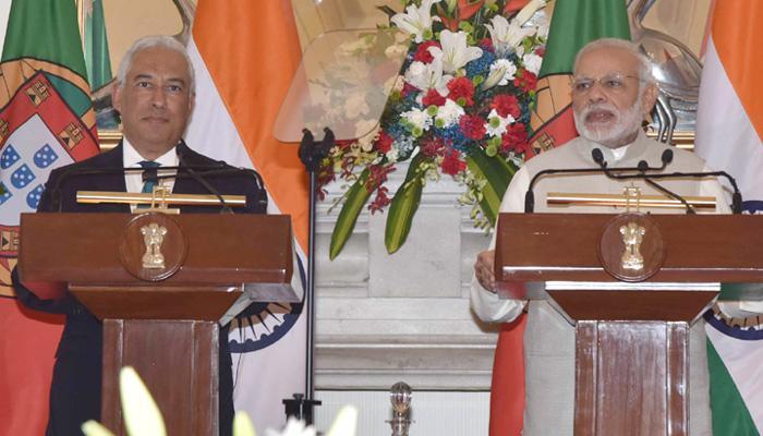 भारत और पुर्तगाल ने संबंधों की मजबूती के लिए रक्षा और अन्य 6 संधियां कीं