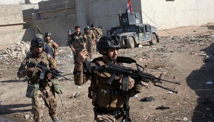 इराकी सुरक्षाबलों ने IS के चंगुल से मोसुल के और इलाके मुक्त कराए