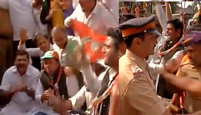 RBI दफ्तरों के बाहर कांग्रेस ने किया देशभर में प्रदर्शन