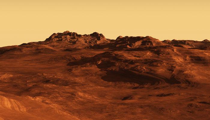 मीथेन गैस के विस्फोट से शुरुआत में गरम रहा होगा मंगल ग्रह