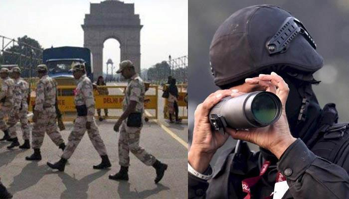 गणतंत्र दिवस के मौके पर जमीन से आसमान तक सुरक्षा कवच, दिल्ली सहित पूरे देश में सिक्योरिटी के पुख्ता इंतजाम