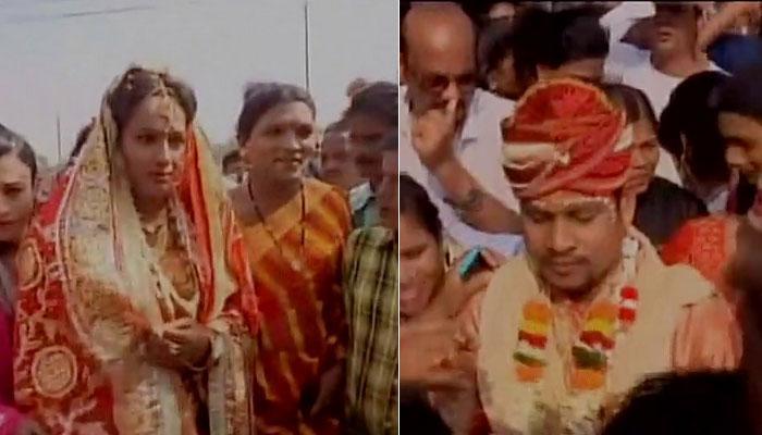 ओडिशा में ट्रांसजेंडर ने मां बनने की ख्वाहिश में पुरुष से रचाई शादी