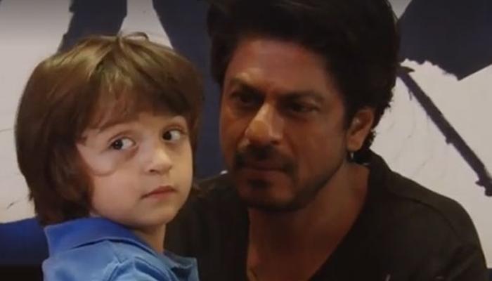 जब शाहरूख खान के LIVE इंटरव्यू के दौरान पापा के पास आ गया दुलारा अबराम! देखें बेहद क्यूट VIDEO